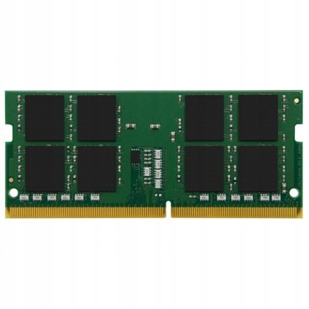 Kingston 8 GB, DDR4, 3200 MHz, Notebook, Registere