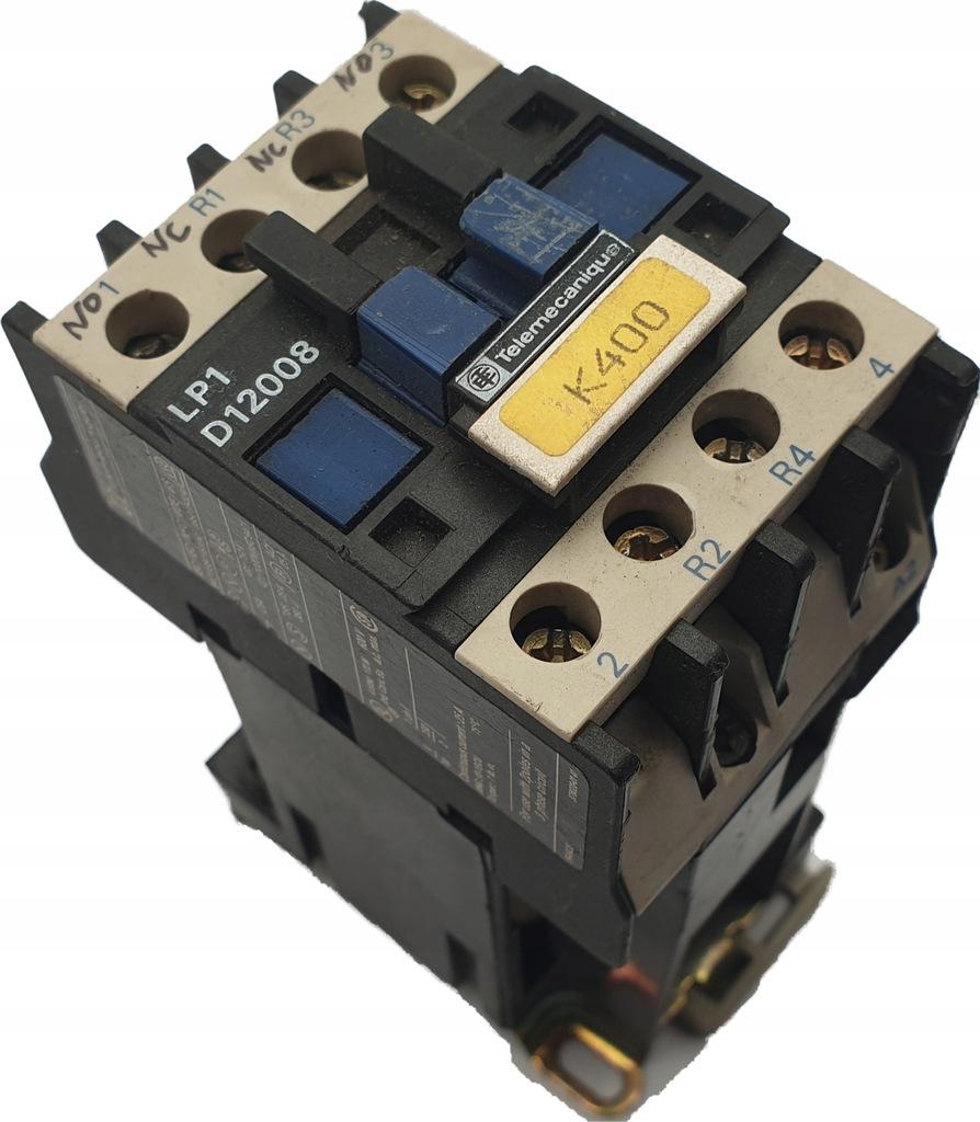 TELEMECANIQUE LP1 D12008 24VDC BD R1 R2 R3 R4