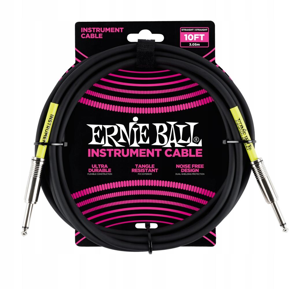 Kabel gitarowy ERNIE BALL 6048 (3,04m)