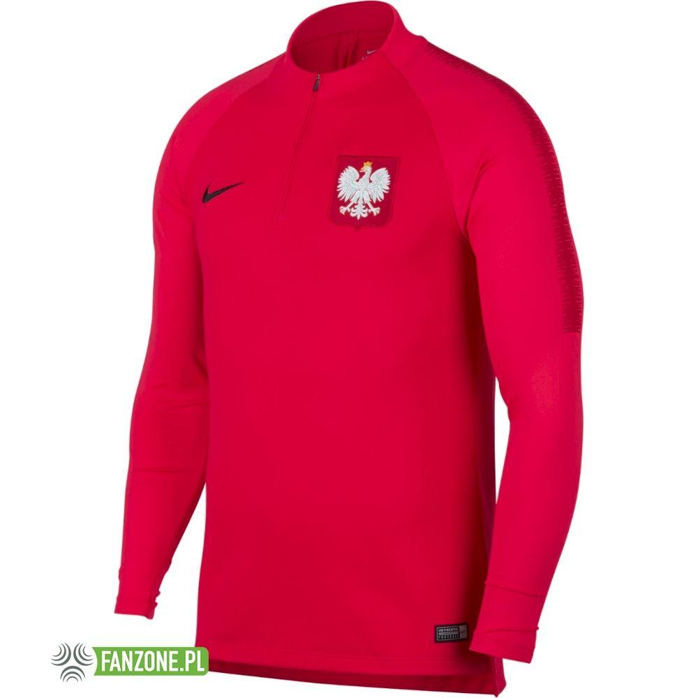 bluza reprezentacji polski czerwona