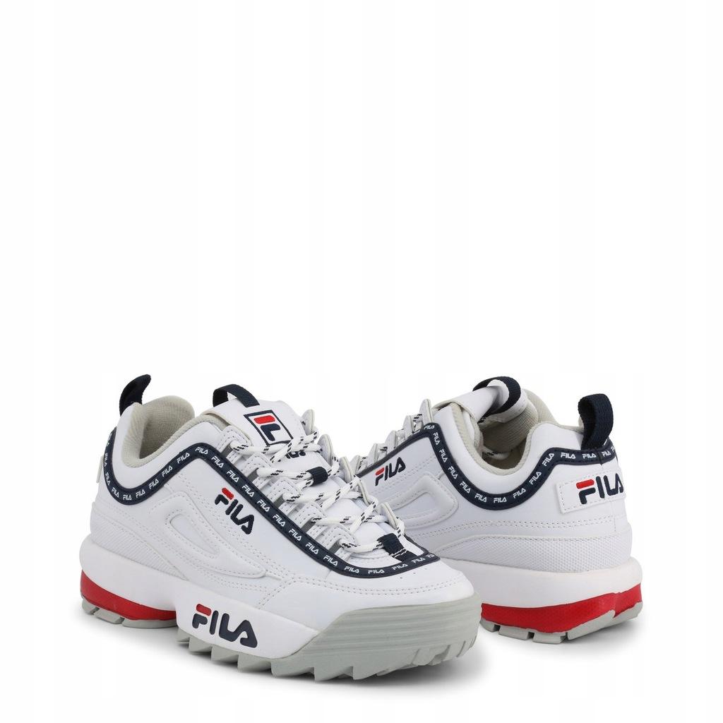 Sneakersy Fila DISRUPTOR LOGO LOW 1010748 EU 41