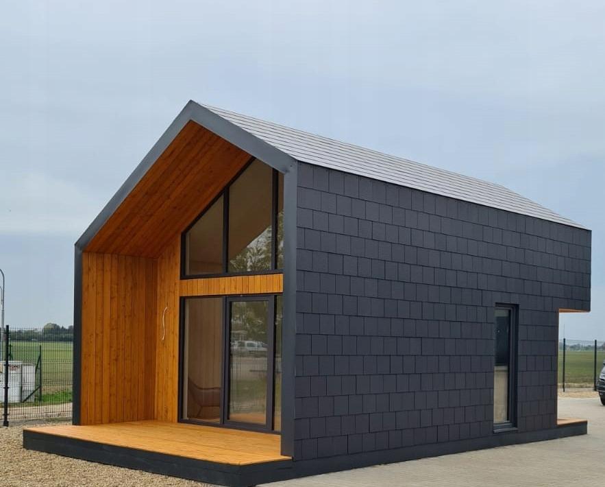 Drewniany dom A.B.Z. 35m2