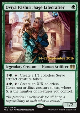 Oviya Pashiri, Sage Lifecrafter PKLD GD Foil