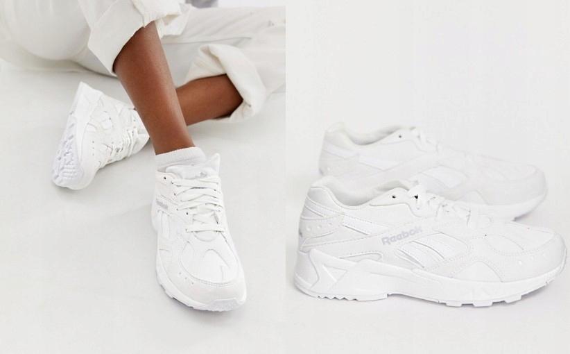 Reebok – Aztrek – Białe buty sportowe