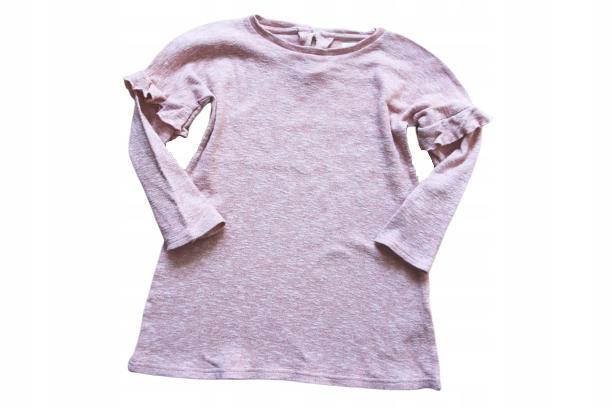 Next 4-5lat sweterkowa tuniczka, oversize 110