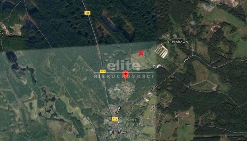 Działka, Pilchowo, Police (gm.), 1053 m²