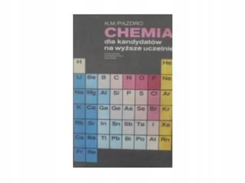 chemia dla kandydatów na wyższe uczelnie -
