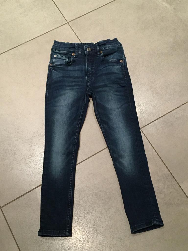 Spodnie dla chłopca H&M 110 cm. 4-5 lat jeans
