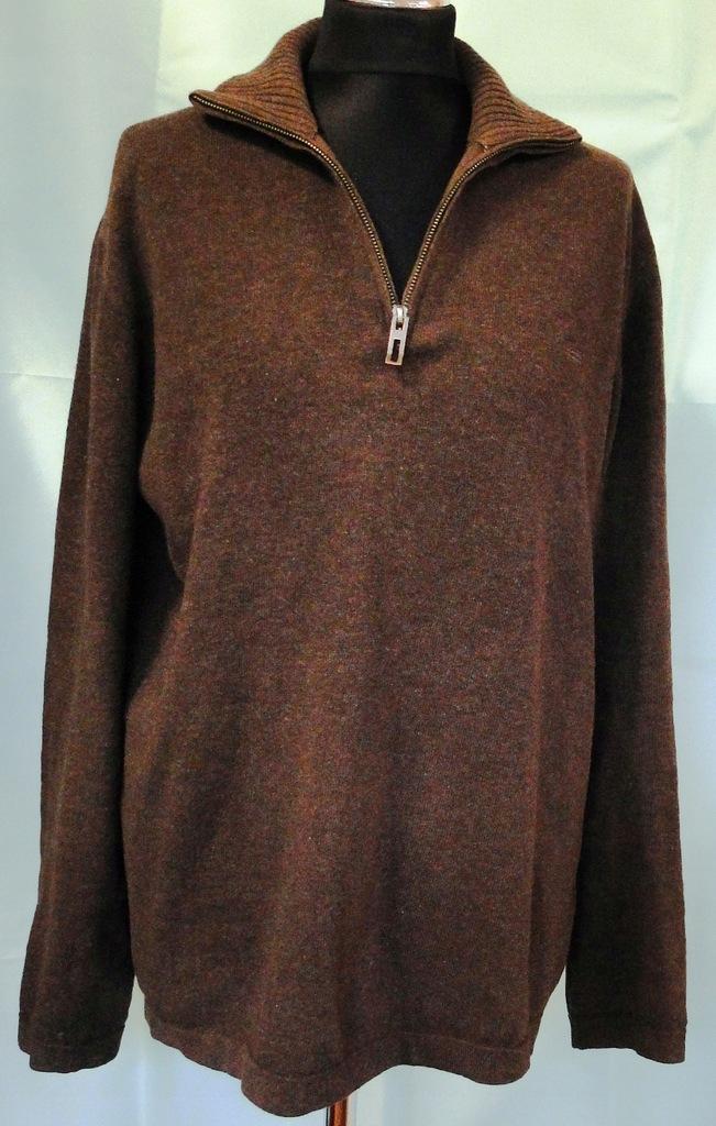 MARC O' POLO - brązowy sweter rozm. L