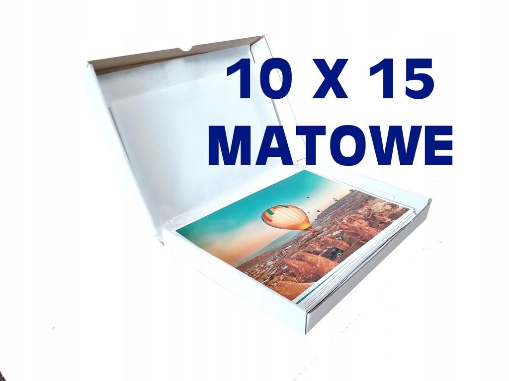 ODBITKI ZDJĘĆ 10X15 MATOWE 10szt PREMIUM JAKOŚĆ