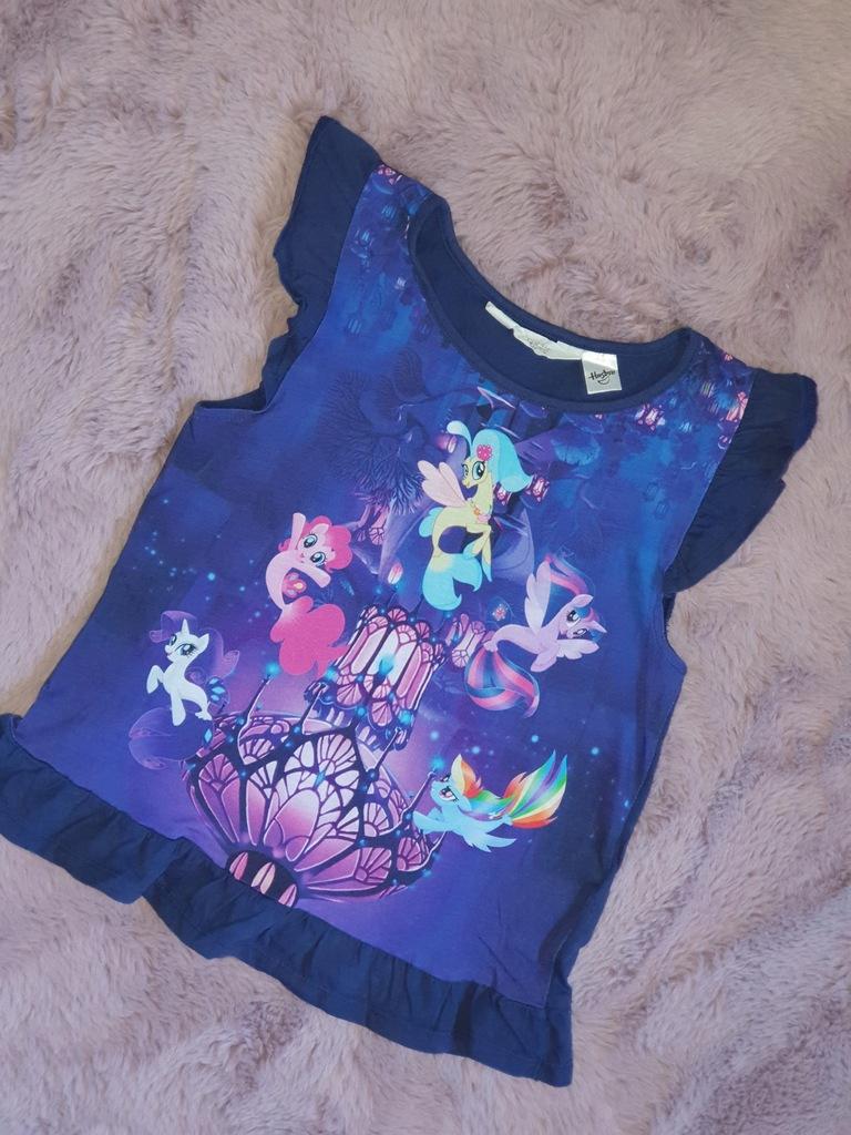 Śliczna Bluzeczka Pony H&M Rozm. 122/128