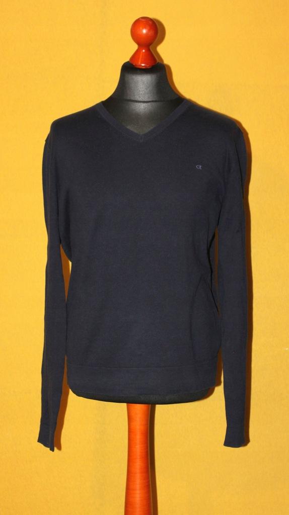 Calvin Klein sweter męski rozm. L pachy: 56 cm