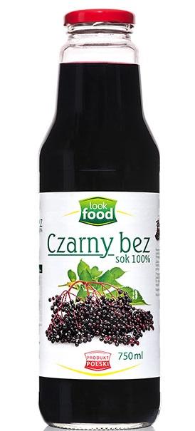 Sok Z Czarnego Bzu 750 Ml Look Food Czarny Bez 7379887410 Oficjalne Archiwum Allegro