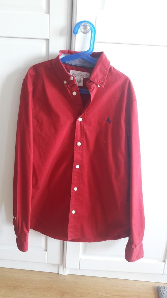 H&M Koszula czerwona 158