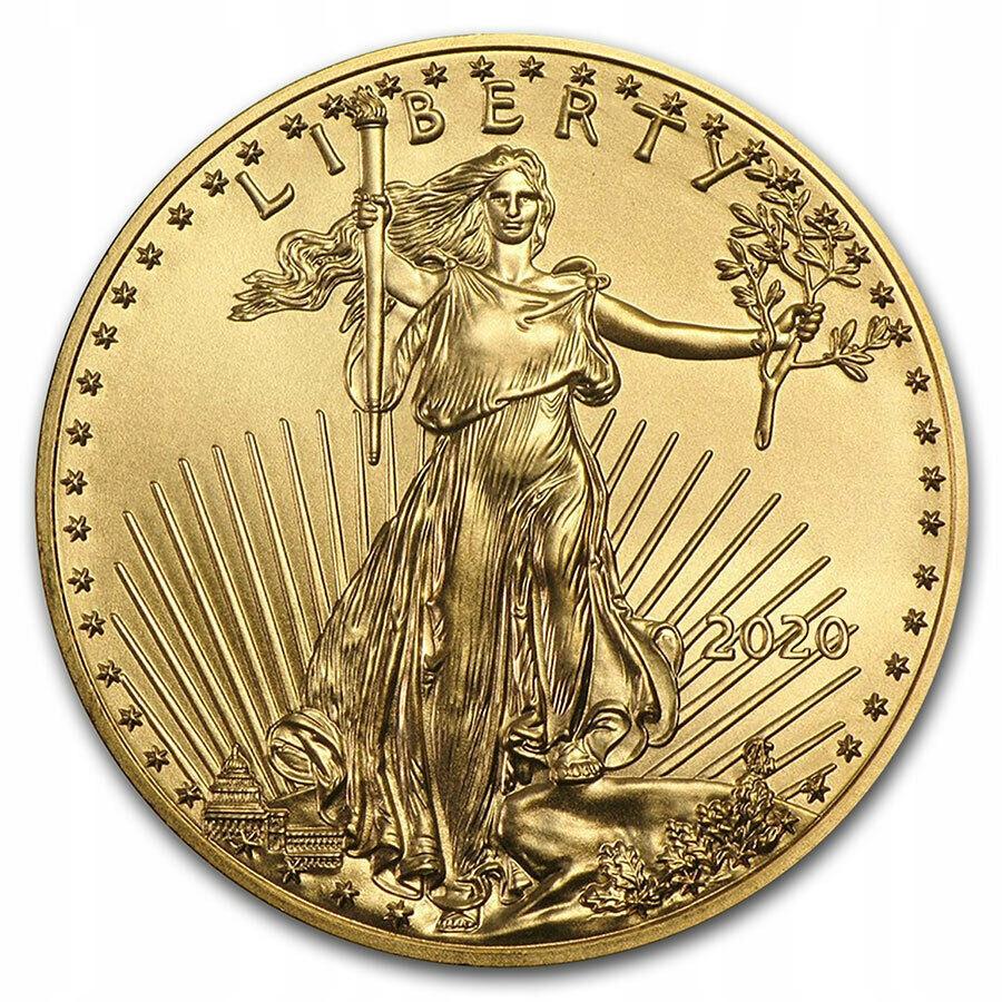 USA - 50 $ Amerykański Orzeł 2020 - uncja 1oz Au