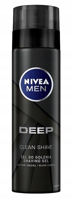 NIVEA MEN Żel do golenia DEEP CLEAN 200ml