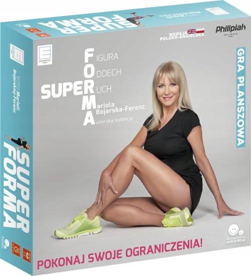 Super Forma. M. Boharska-Ferenc. Gra planszowa