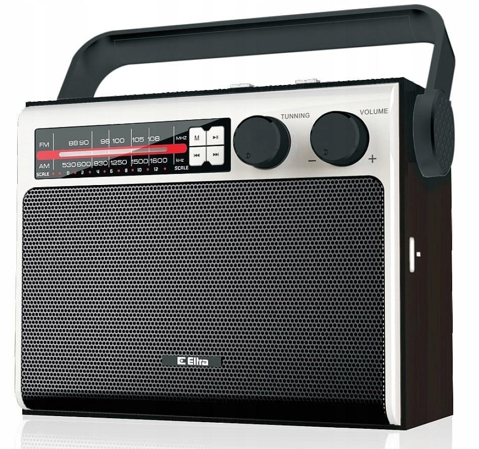 Eltra Radio Celina USB, FM Czarny