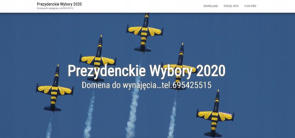 domena wyborcza www.prezydenckie.wybory.online