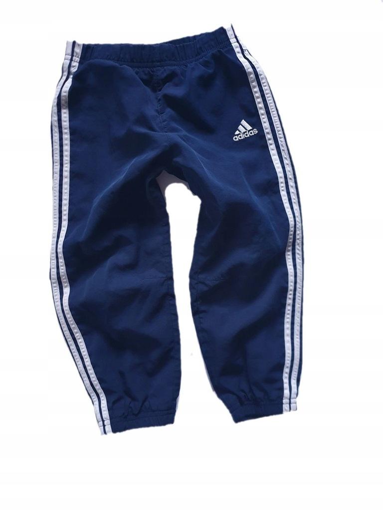ADIDAS spodnie dresowe z podszewką 98 cm 2 3 lata