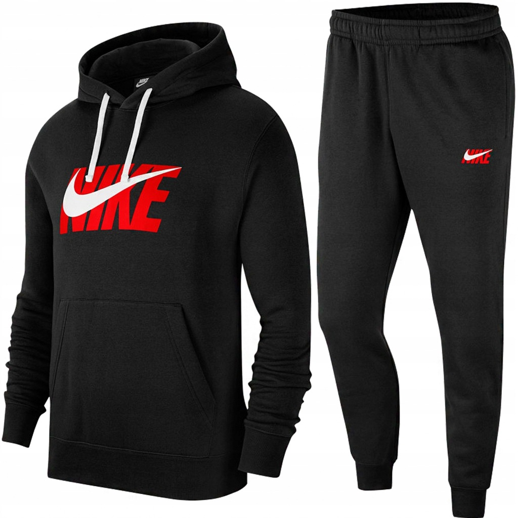 Nike komplet dresowy męski czarny IC9591-010 M