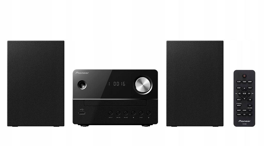 Wieża PIONEER XEM16B MP3-CD, CD-RW, CD-R, Audio