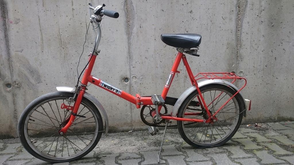 rower Wigry 3 kultowy składak z PRL