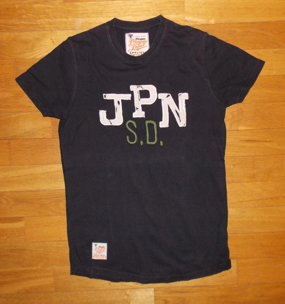 T-SHIRT koszulka SUPERDRY oryginalny litery JPN S