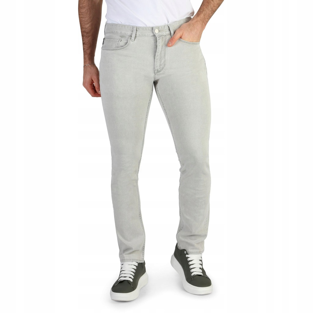 Spodnie - Calvin Klein - K10K101005 - Szary 29