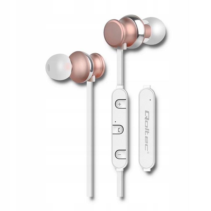 Słuchawki bezprzewodowe Qoltec 50823 (dokanałowe;