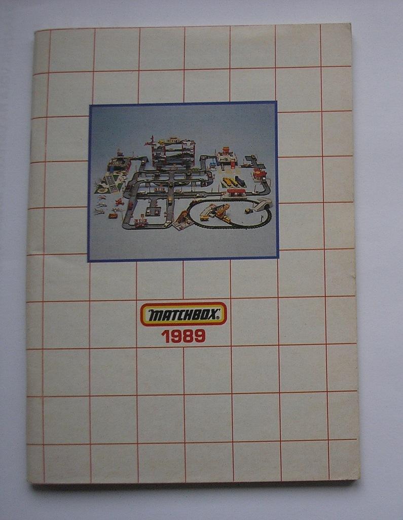 Katalog Matchbox 1989 samochody samoloty i inne