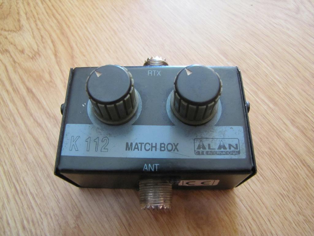 Match Box Alan K112 Matchbox Maczer CB