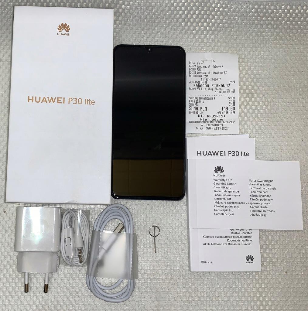 Nowy! Huawei P30 lite MAR-LX1A ! Czarny
