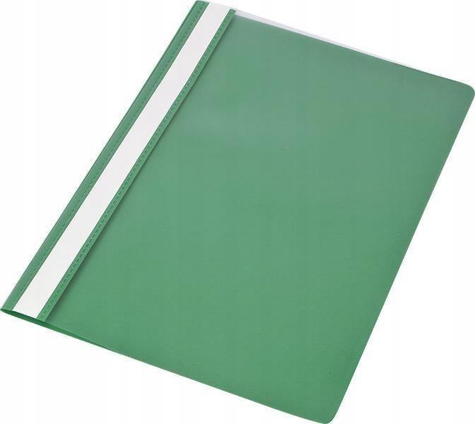 Skoroszyt A4 PP zielony (10szt)