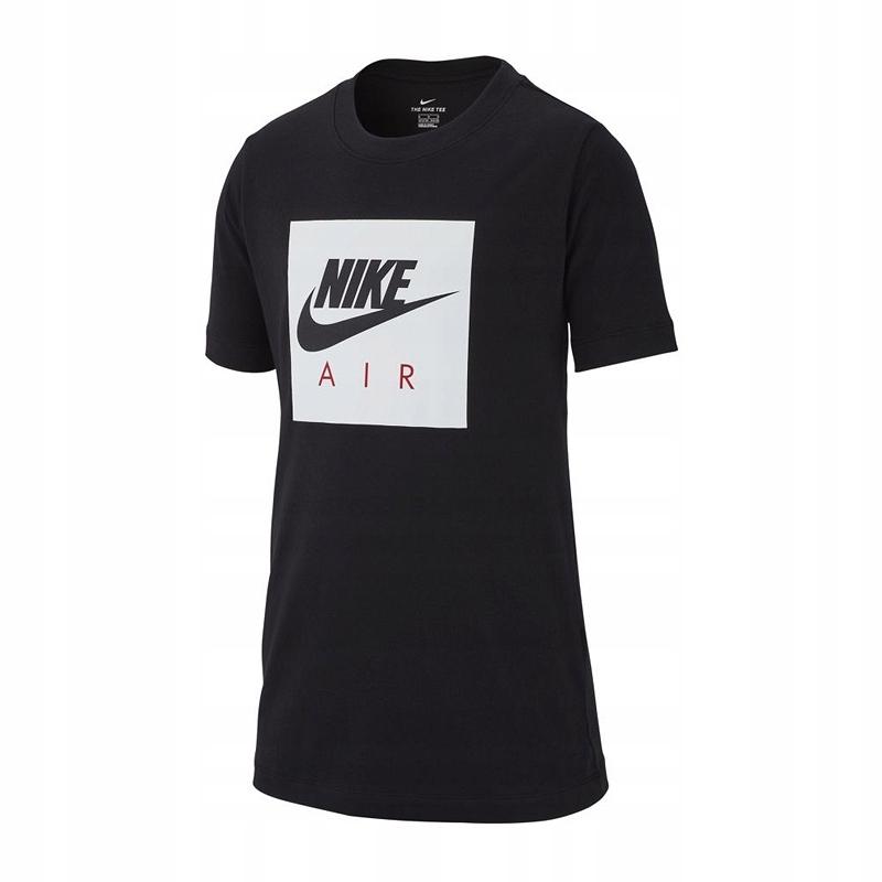 Koszulka NIKE AIR Box Junior AR5257-010 - 140 cm