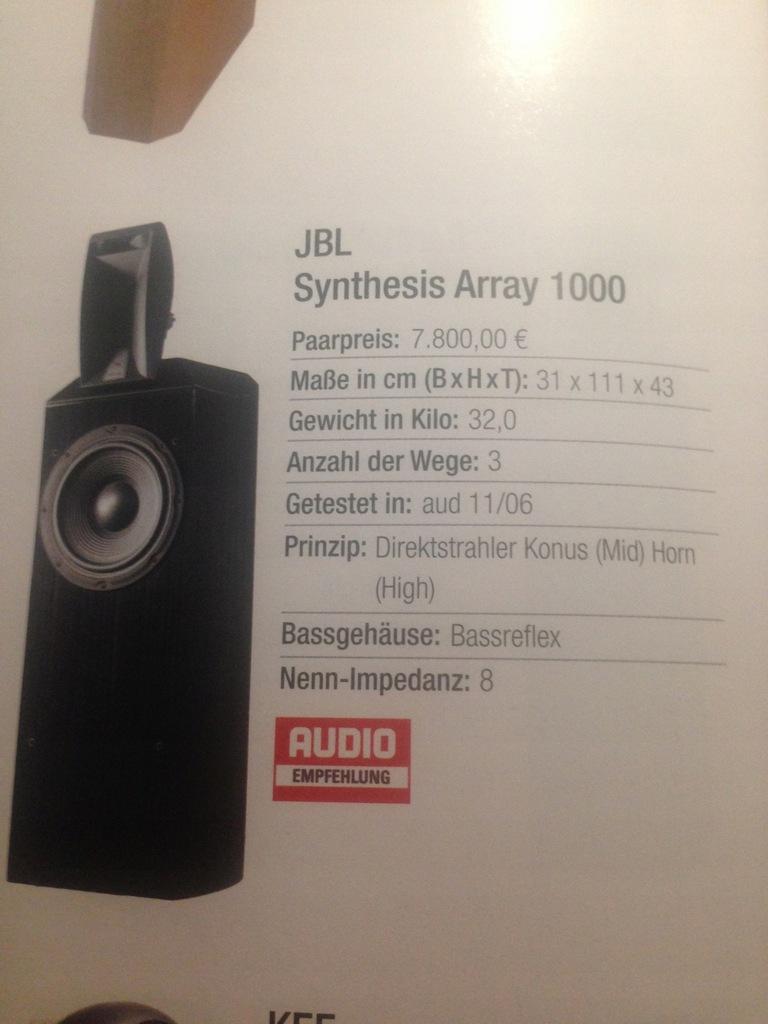 JBL Synthesis 1000 Array