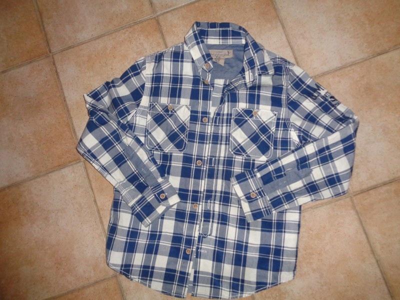 H&M-koszula chłopięca rozm.128