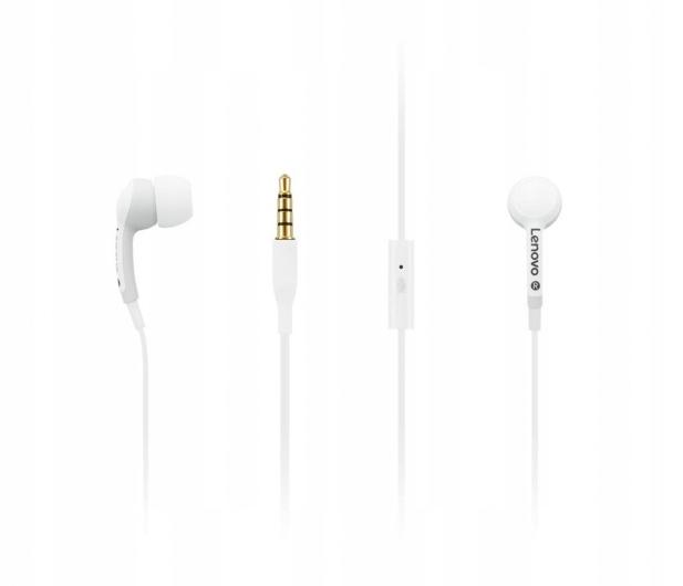 Słuchawki dokanałowe Lenovo 100 In-Ear Białe #nowe
