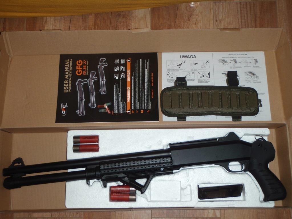 SHOTGUN/ Strzelba ASG GFG25 - GFC BDB + Gratis