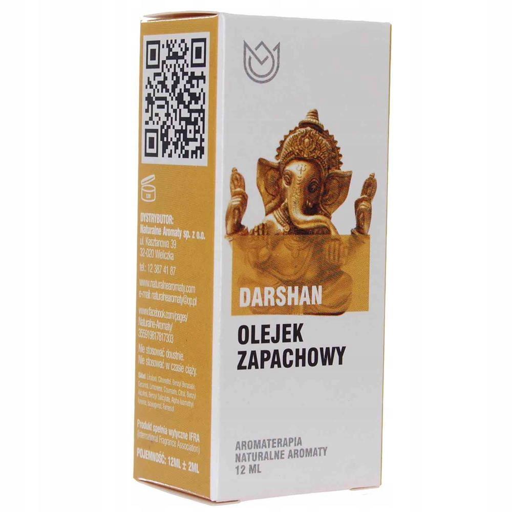 Olejek Zapachowy Darshan 12ml Naturalne Aromaty