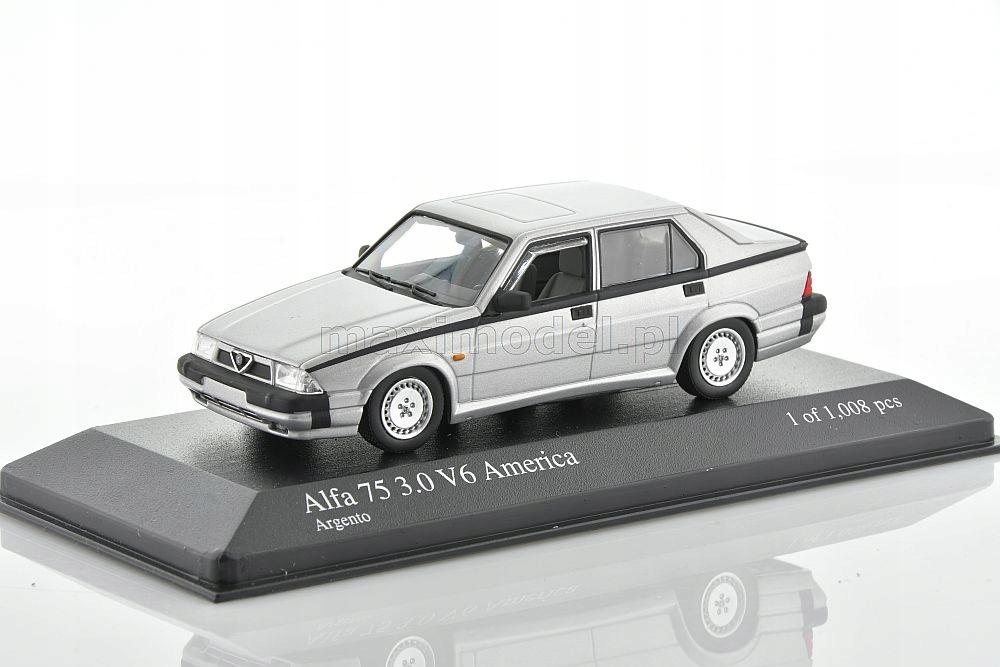 Alfa Romeo 75 3 0 V6 America 1987 1 43 Minichamps 9526692991 Oficjalne Archiwum Allegro