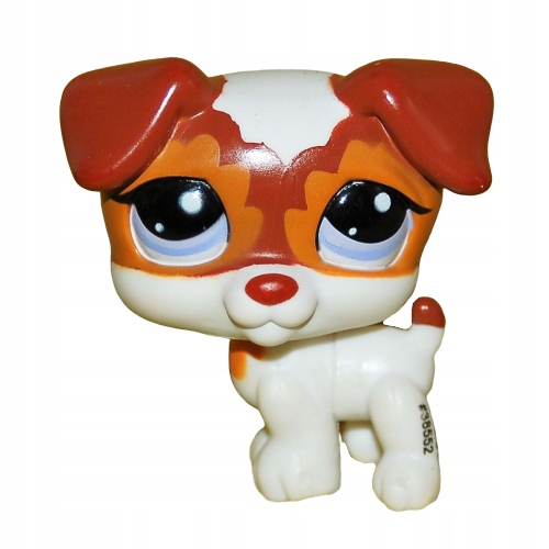 piesek JACK RUSSEL terier #2401 Littlest Pet Shop