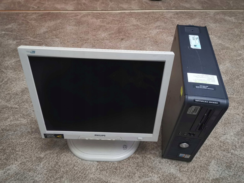 "Zestaw Dell Optiplex 745 + monitor 15"" #4 BCM"