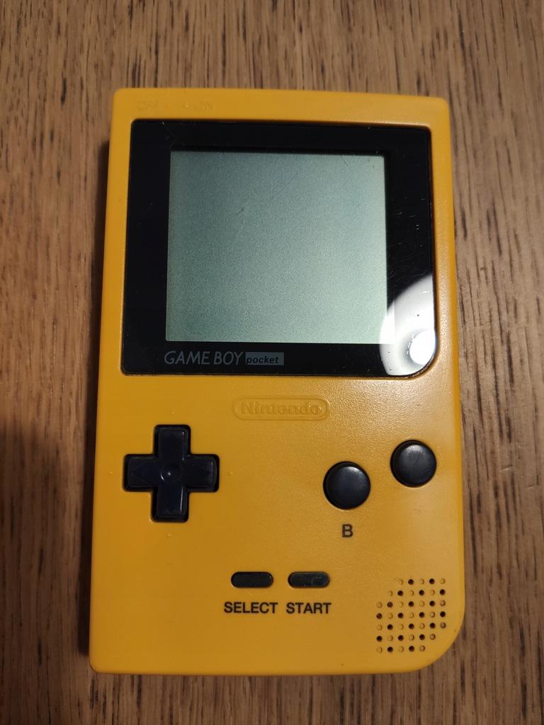 Game Boy Pocket - Żółty