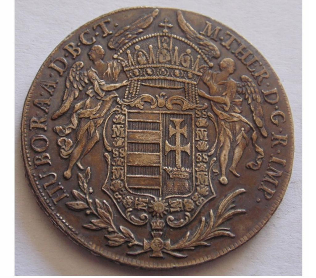 1 TALAR 1780 WĘGRY MARIA TERESA - MADONNA
