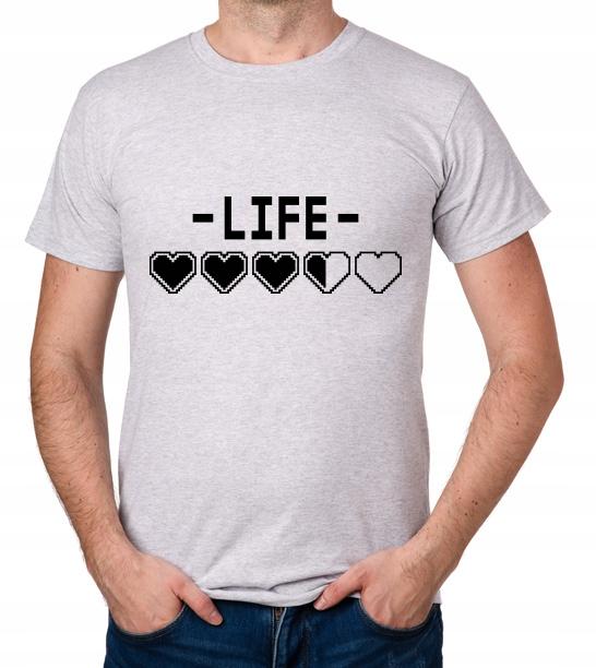 koszulka LIFE HEARTS prezent