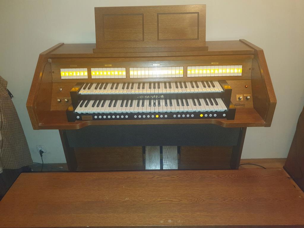 Organy kościelne Johannus Opus 20 cyfrowe z Holand