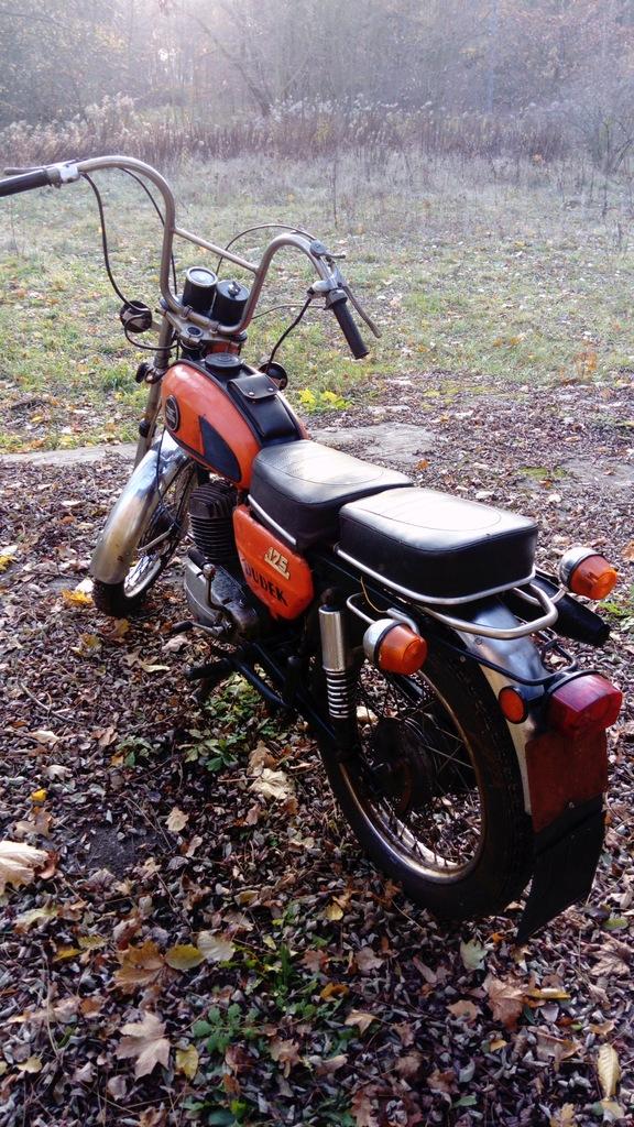 Motocykl Wsk 175 Dudek 1979r Motor Zabytek 8784282283 Oficjalne Archiwum Allegro