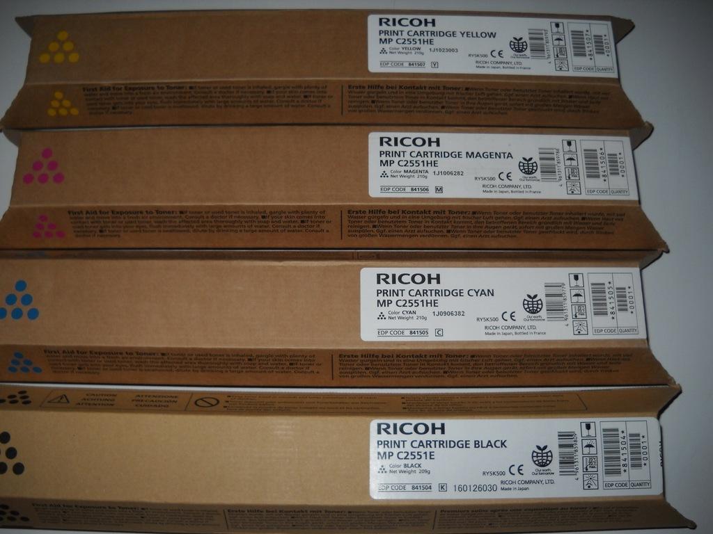 Toner Ricoh Yellow MPC 2050 2550 MPC 2051 ORYG XL