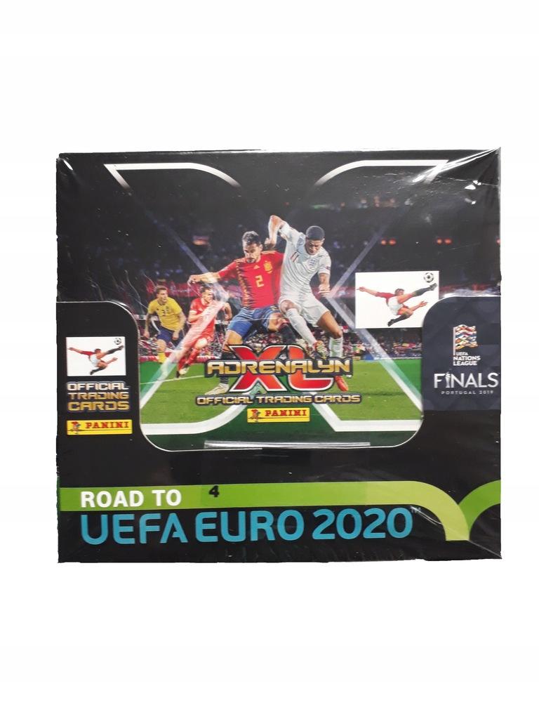 Road to UEFA Euro Adrenalyn XL karty BOX